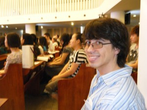 Paul Krause attended the worship at Beijing Haidian Christian Church.