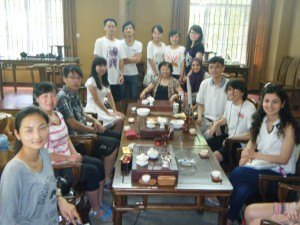 BW team participated in a seminar with professors and students at Fujian Normal University.