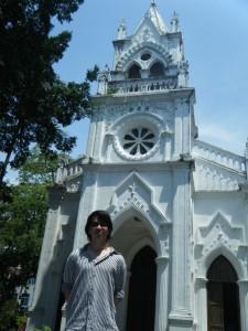 Paul Krause visited Christ the King Catholic Church at Gulangyu Island, Xiamen.