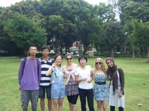 Daniela Muhaj, Erin Amschlinger and Sundous Eddeb interviewed Xiamen University students.