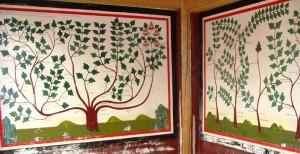 Tradtional education Medical murals, Labrang Monastery, June 2013