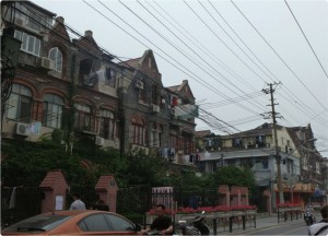 Old buildings in the Ghetto