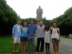 The Davidson team (missing Fuji Lozada, Liu Xiaoyun).