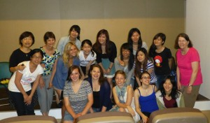 May 29: Chatham Research Team with Professor Kailin Wu's class at Tunghai University