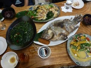 June 10: Delicious meal at Cifadahan Café, Guangfu Township, Hualien County, Taiwan