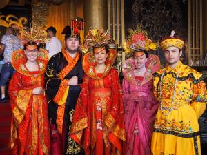 Participation in Cultural Activity at Three Kingdom City, Wuxi