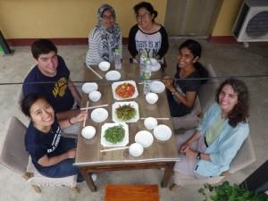 Dinner at a farmhouse in Beigou
