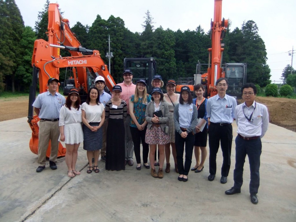 A group picture taken at the HCM Tsuchiura Technical Research Center on June 2, 2015.