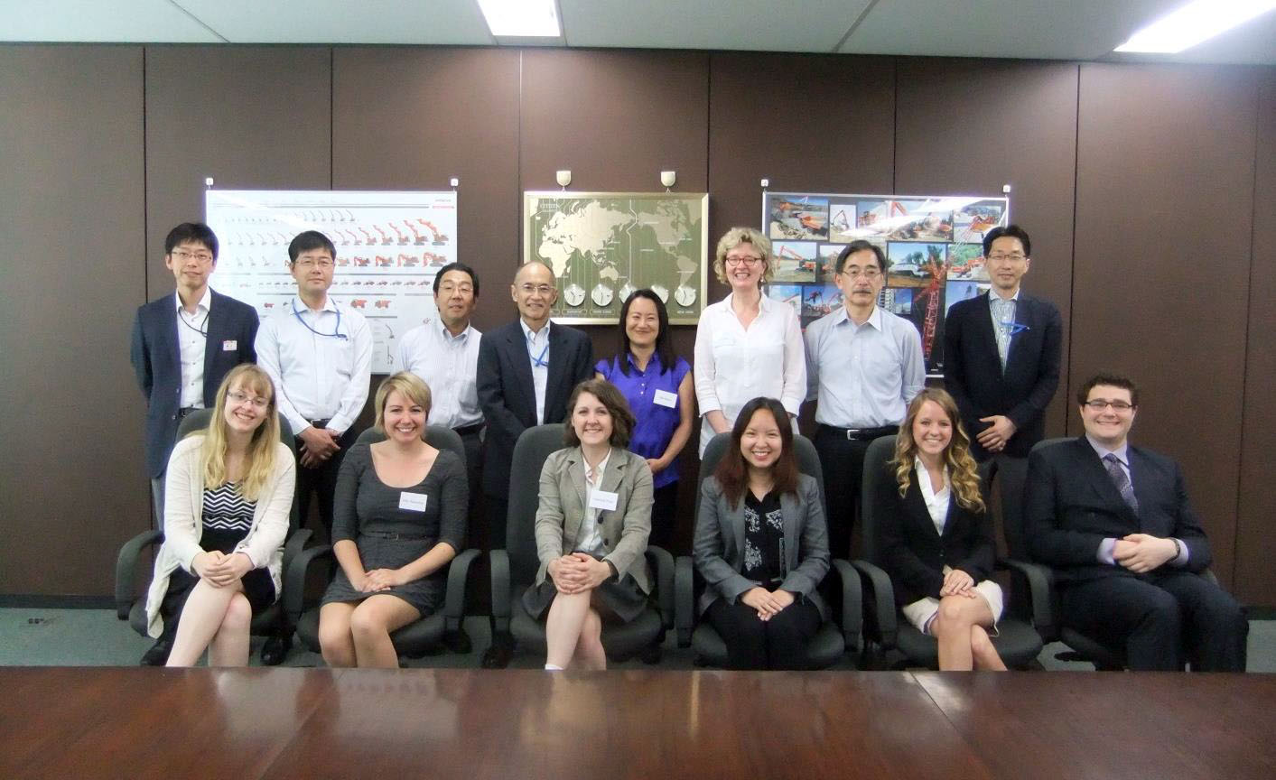A group picture taken at the HCM headquarters before the final parting. June 16, 2015.