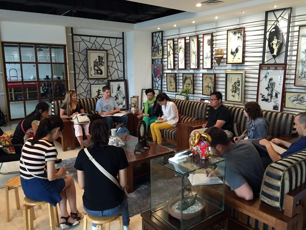 Interviews at Chu's Tiehua