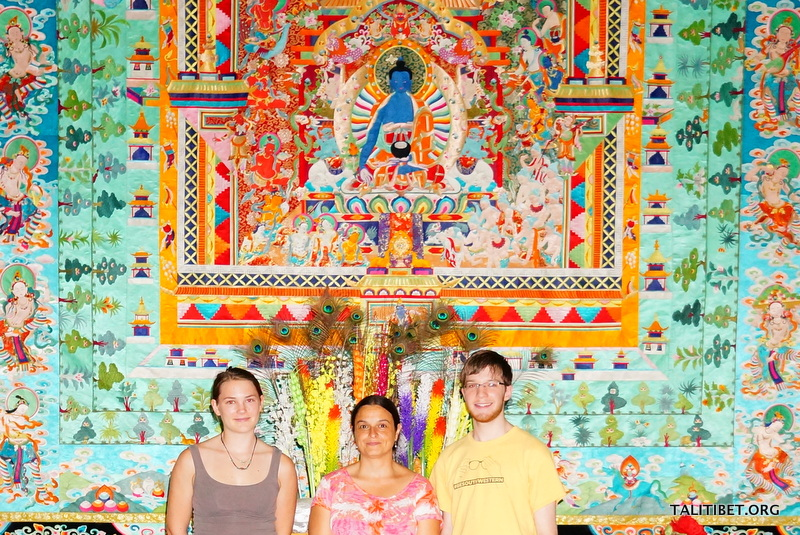 Southwestern Team at the Museum of Tibetan Culture in Xining