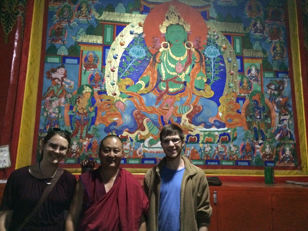 Visiting the Rongwo Monastery in Rebkong
