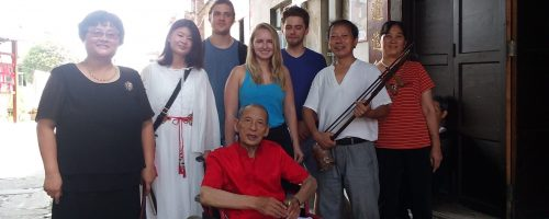 With storytellers of Zou Ma Town