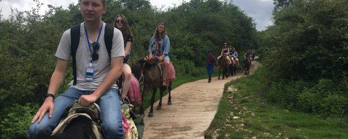 Slippery Rock University of Pennsylvania team explored Lashi Town of Lijiang
